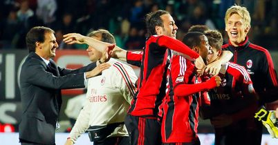 Allegri thanks Milan players