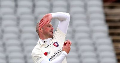Kent make encouraging start