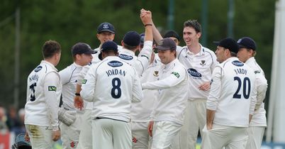 Somerset routed by Sussex