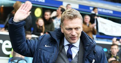 David Moyes: Admitted to being emotional at the reception he received