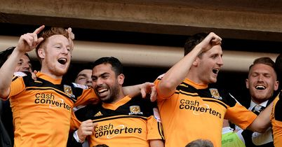 Hull: Won promotion back to the Premier League