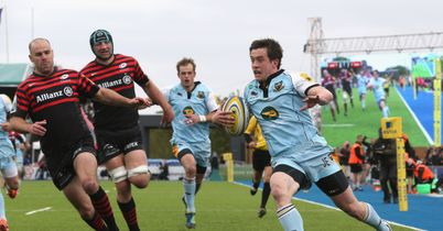 Saints alive as Sarries slump