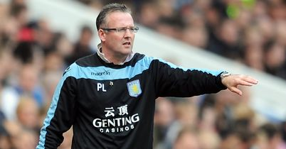 Paul Lambert: Has done an excellent job so far at Aston Villa