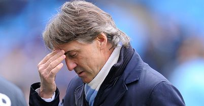 Roberto Mancini: Has failed at Manchester City