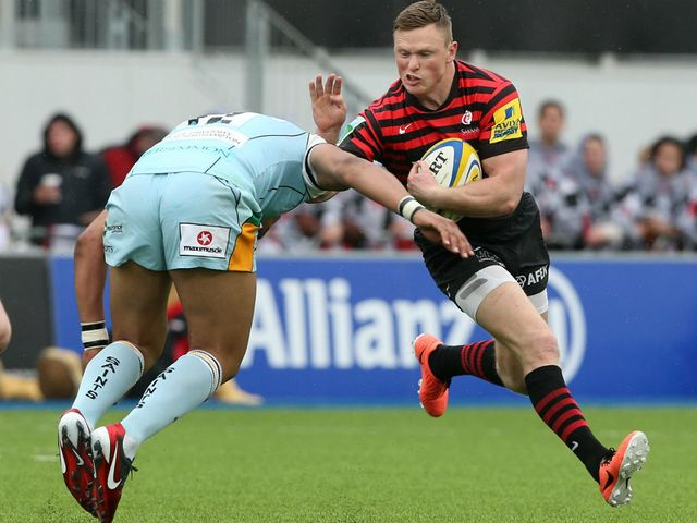 Chris Ashton: Scored for Saracens