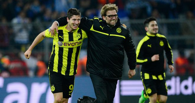 Robert Lewandowski: Will play for Dortmund this season, says Klopp