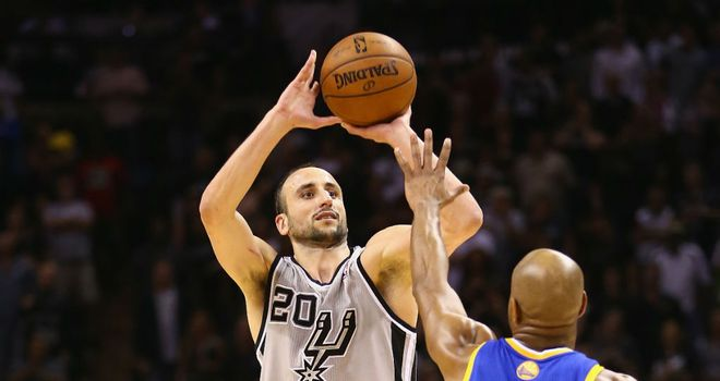 Manu Ginobili: Landed the winning three-pointer