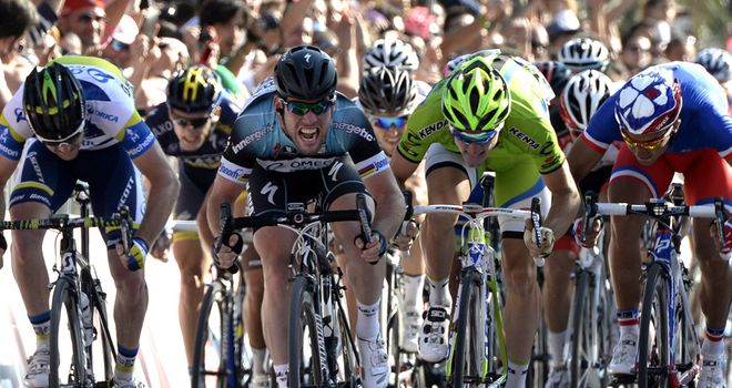 The race for the green jersey is expected to be fiercely contested
