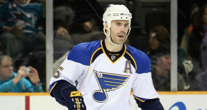 Barrett Jackman: Timely strike for St Louis Blues