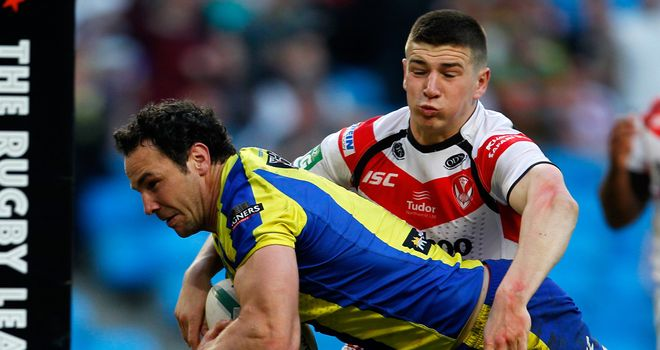 Adrian Morley: Warrington prop eyeing Wembley