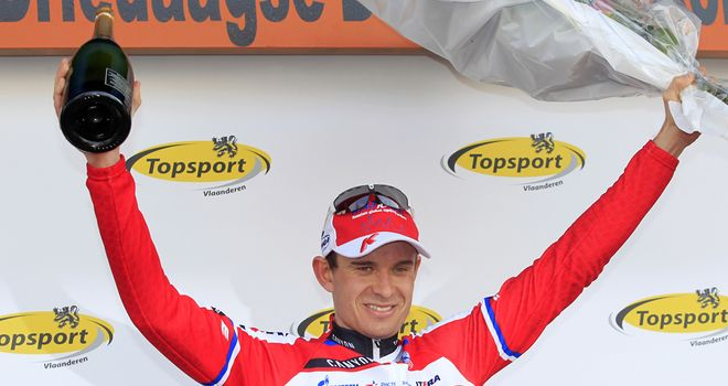 Alexander Kristoff: Held off some big names to claim stage five