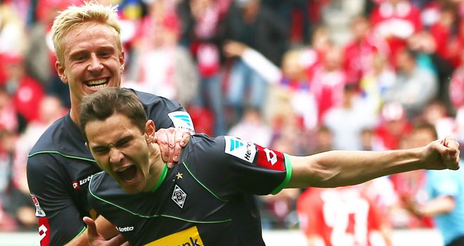 Branimir Hrgota had a dream day for Gladbach