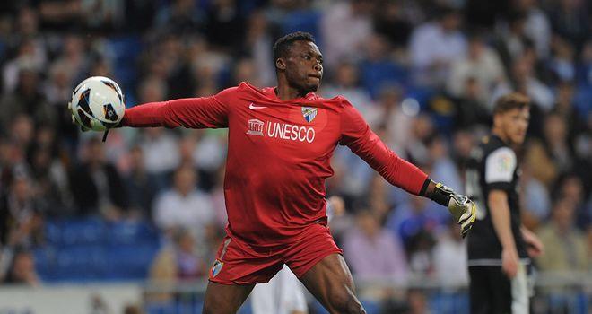 Carlos Kameni: Made some vital saves for Malaga
