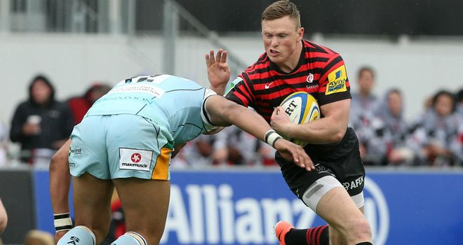 Saracens were overpowered by Northampton
