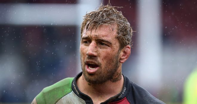 Chris Robshaw: Backed to retain England captaincy