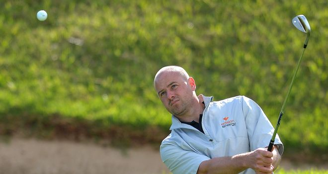 Craig Lee: One-shot lead for the Scotsman