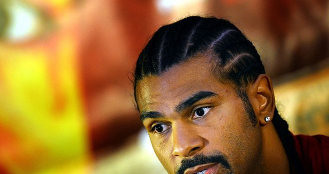 David Haye: No deal yet with Tyson Fury