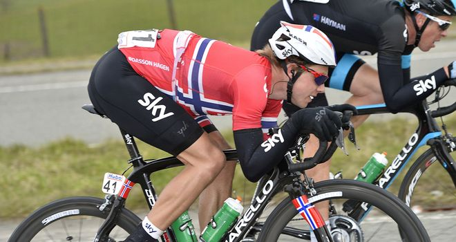 Edvald Boasson Hagen: Doubled up with his second success in Norway
