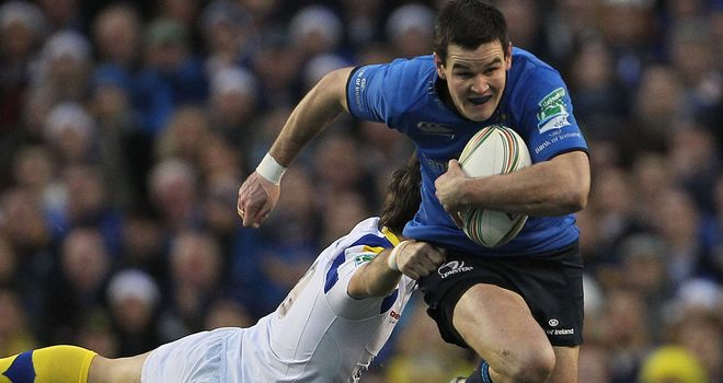 Jonathan Sexton: Will join Racing Metro from Leinster this summer