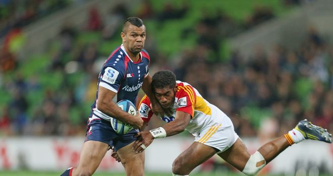 Kurtley Beale: Has been 'stood down' by the Rebels