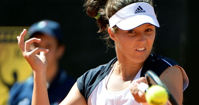 Laura Robson: Produced an excellent performance in Rome