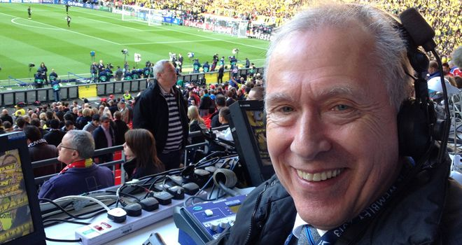 Martin Tyler: at Wembley on Saturday, on skysports.com on Tuesday