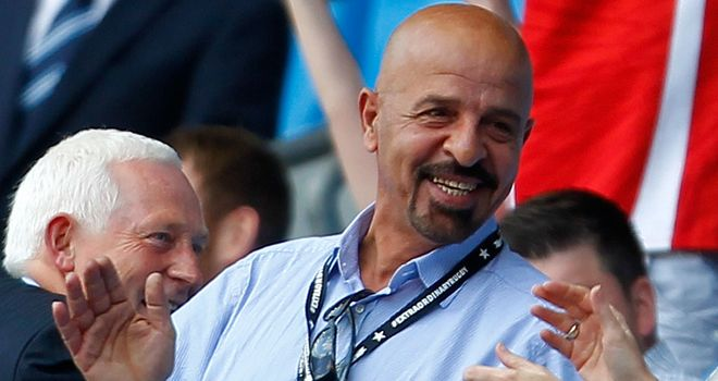 Marwan Koukash during the recent Magic Weekend in Manchester