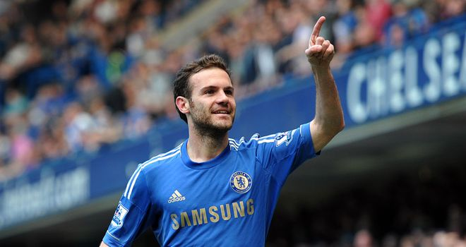 Juan Mata: Playmaker is happy at Chelsea