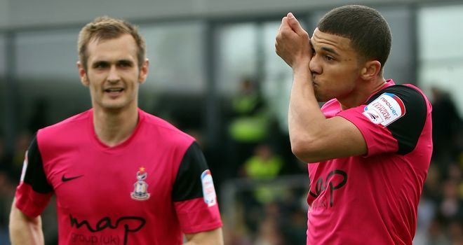 James Hanson & Nahki Wells: Celebrate at the Pirelli Stadium
