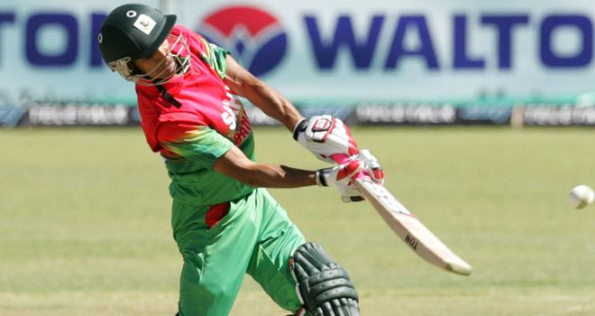 Nasir Hossain: Made 68 for Bangladesh