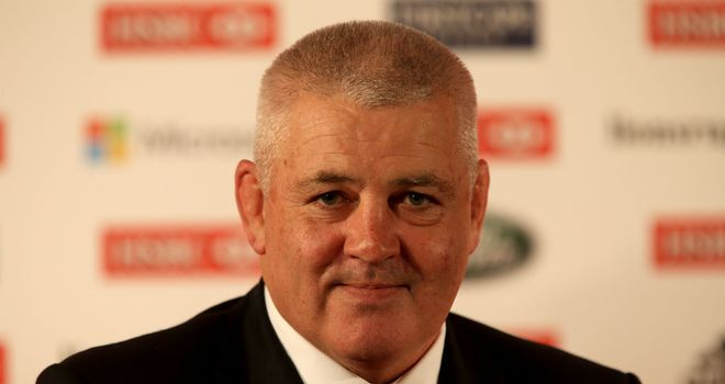 Warren Gatland: Ready for the challenge ahead