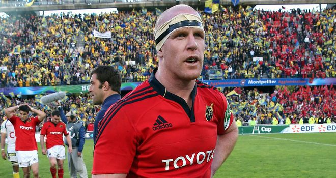 Paul O'Connell: Thrilled to be part of the Lions squad
