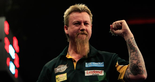 Simon Whitlock: Off to thrilling win