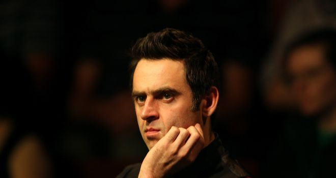 Ronnie O'Sullivan: Sees parallels with Tiger Woods