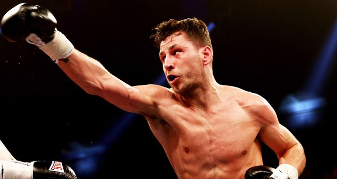 Darren Barker: In confident mood