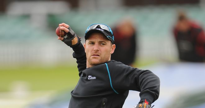 Brendon McCullum: New Zealand captain punished England's bowlers during the winter