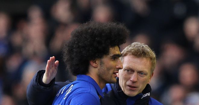 David Moyes has made no secret of his admiration for Marouane Fellaini but is apparently yet to make a move