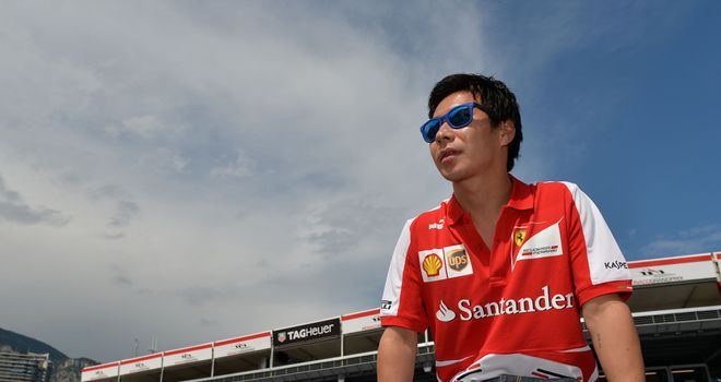 Kamui Kobayashi: Was part of Ferrari's GT line-up in 2013