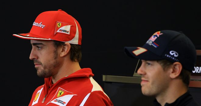 Fernando Alonso and Sebastian Vettel headline Thursday's press conference