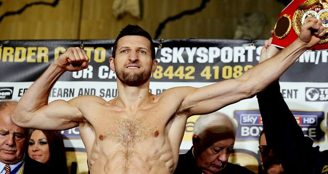 Sparking: Carl Froch is firing on all cylinders