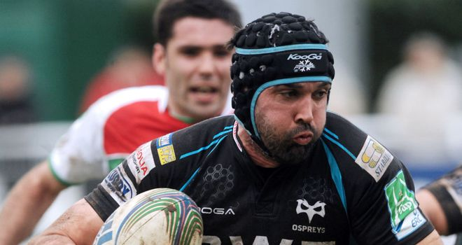 Jonathan Thomas: Ospreys back row will join up with the Warriors