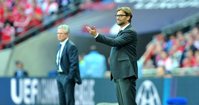 Jurgen Klopp: Bortmund boss was generous in defeat about opposite number Jupp Heynkes