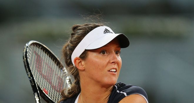 Laura Robson: Faces tough opening test in Rome on Monday