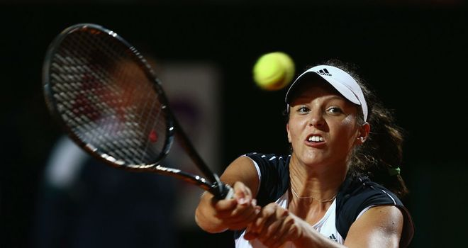 Laura Robson admitted she was outclassed by Serena Williams