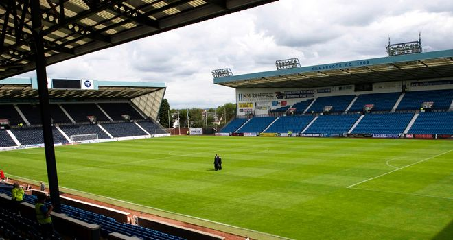 Rugby Park: Sunday's game between Kilmarnock and Hibernian was abandoned after a fan, who later died in hospital, was taken ill