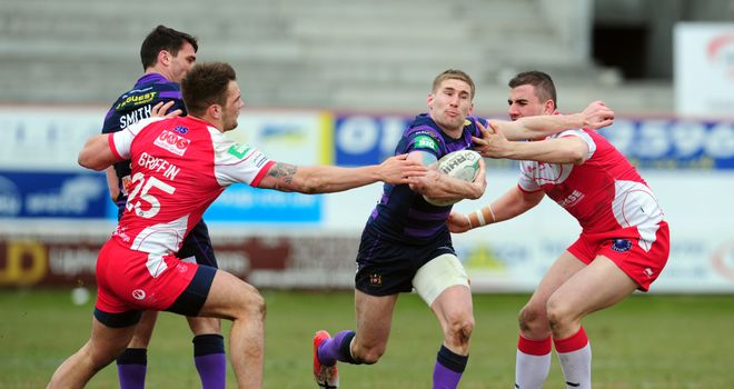 Sam Tomkins: Led the way for Wigan with four tries