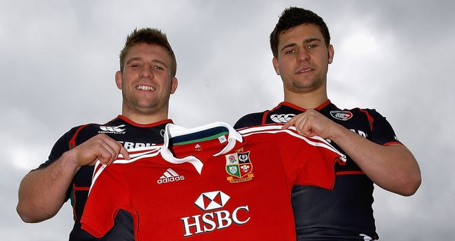 Brothers-in-arms Ben and Tom Youngs