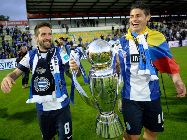 Joao Moutinho and James Rodriguez will both join Monaco