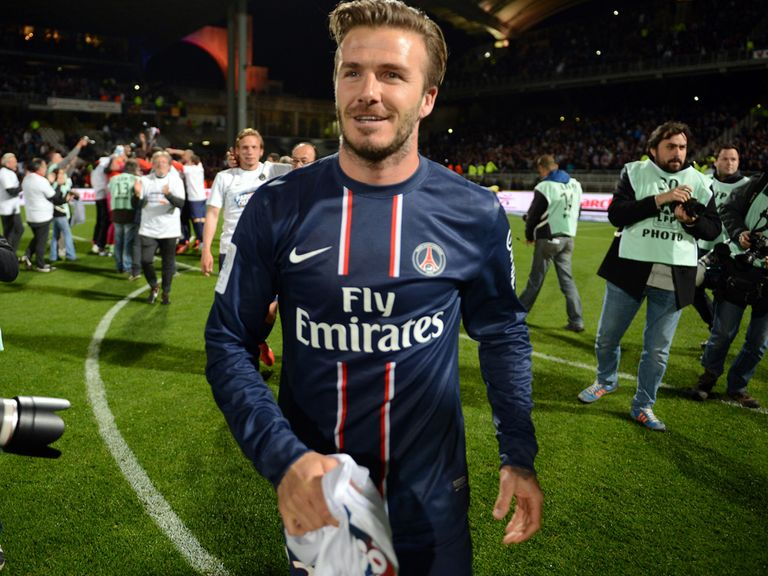 David Beckham: Will retire from football after title glory with PSG