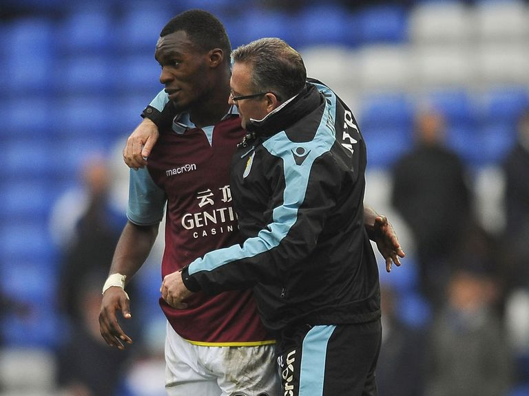 Paul Lambert wants Christian Benteke to stay at Aston Villa